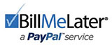 Bill me later with PayPal and CarpetExtractors.com on orders over $250.